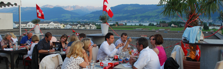 1. August Restaurant Rapperswil Jona SKYLITE event Nationalfeier
